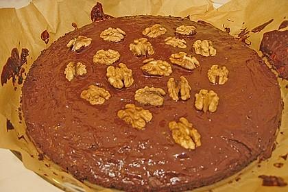Walnuss - Schokoladen - Kuchen 3