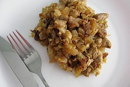 Schlesisches Zwiebel - Bauchfleisch 1