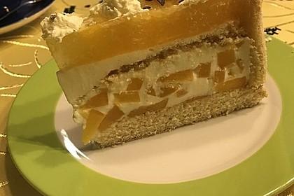 Pfirsich - Joghurt - Torte 11