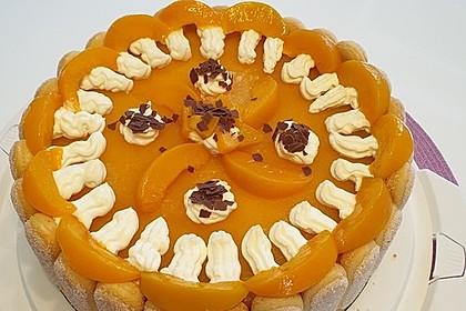 Pfirsich - Joghurt - Torte 10