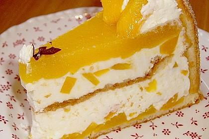 Pfirsich - Joghurt - Torte 22