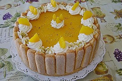 Pfirsich - Joghurt - Torte 20