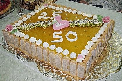 Pfirsich - Joghurt - Torte 90