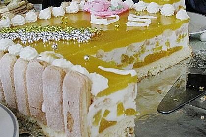 Pfirsich - Joghurt - Torte 54