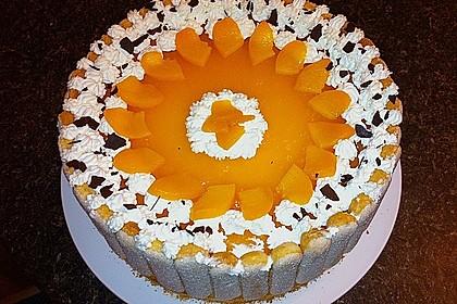 Pfirsich - Joghurt - Torte 46