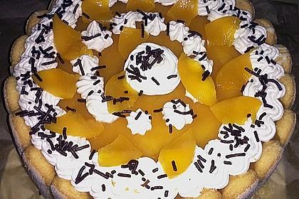 Pfirsich - Joghurt - Torte 77