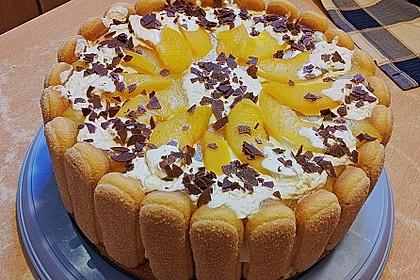Pfirsich - Joghurt - Torte 70