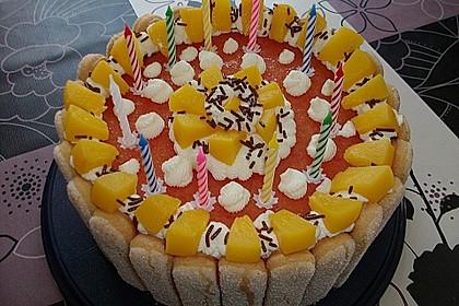 Pfirsich - Joghurt - Torte 68