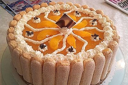 Pfirsich - Joghurt - Torte 16