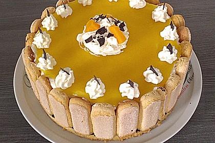 Pfirsich - Joghurt - Torte 73