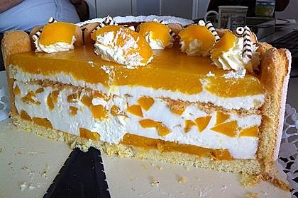 Pfirsich - Joghurt - Torte 48