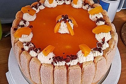 Pfirsich - Joghurt - Torte 80