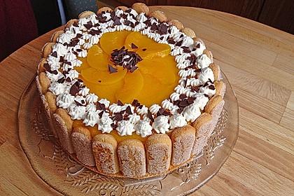 Pfirsich - Joghurt - Torte (Bild)