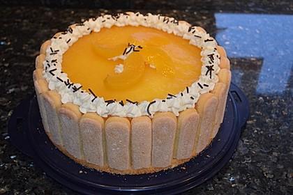 Pfirsich - Joghurt - Torte 8