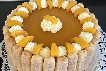 Pfirsich - Joghurt - Torte 5