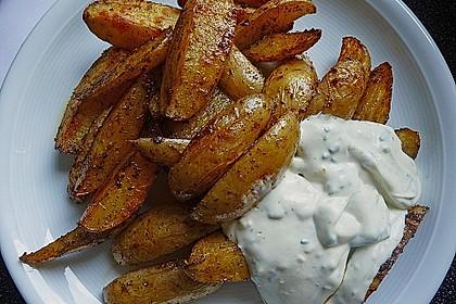 Gebackene Kartoffeldrillinge