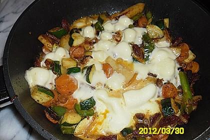 Würzige Gemüsepfanne mit Chorizo 3