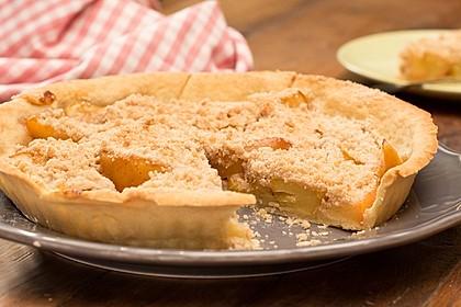 Veganer Apfelkuchen Mit Zimtstreuseln Von Schmim Chefkoch De