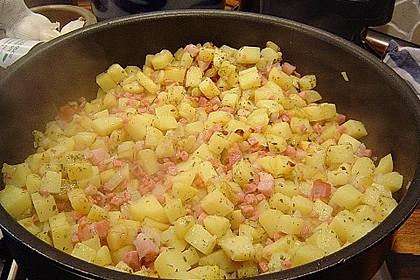 Kartoffel - Gemüsepfanne 1