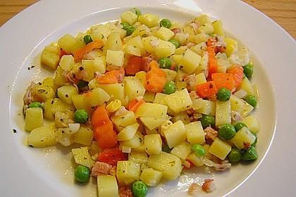 Kartoffel - Gemüsepfanne