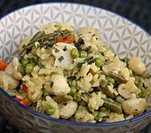 Pilz-Gemüsepaella (Bild)