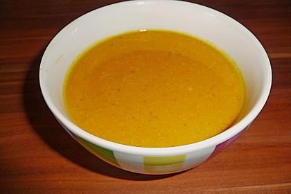 Jamaikanische Kürbissuppe (Bild)