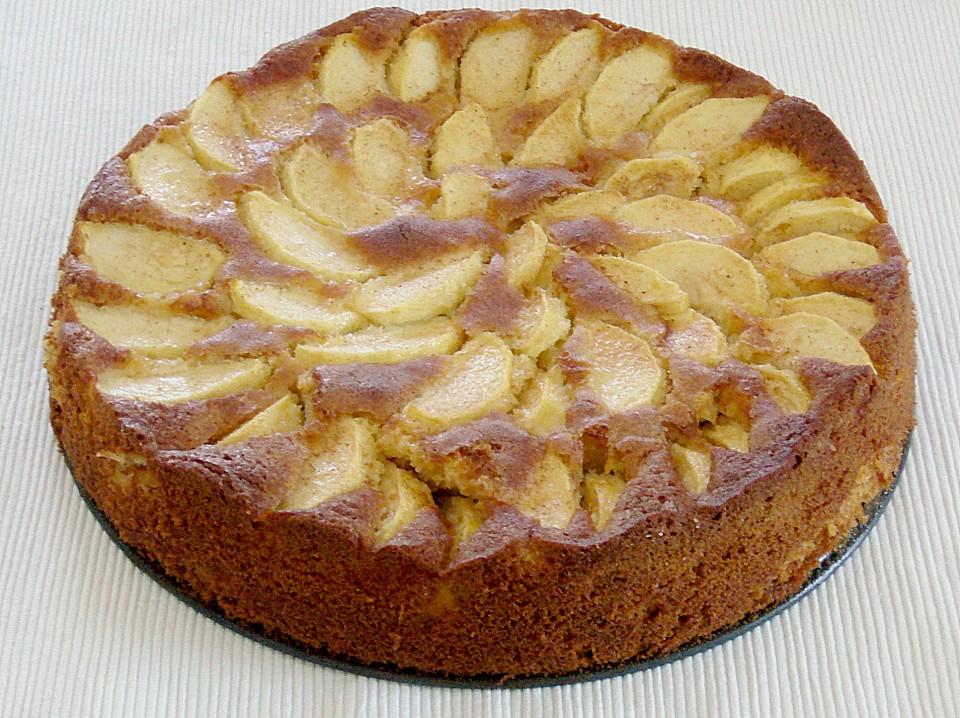 Apfel Marzipan Kuchen Ein Schones Rezept Chefkoch De