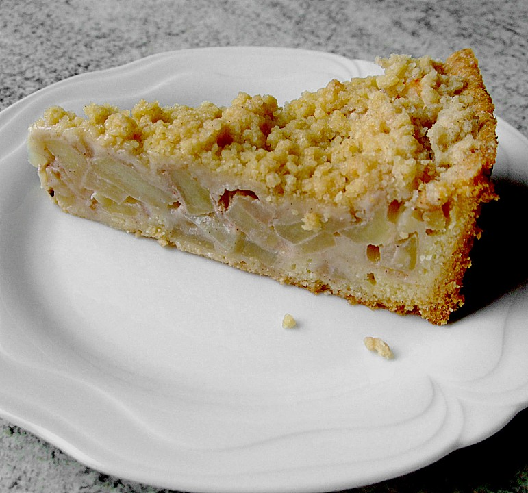 Apfel Schmand Kuchen Von Gertrud30 Chefkoch De