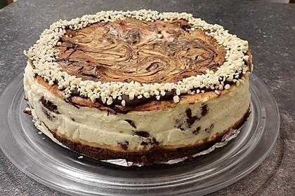 Brownie Swirl Cheesecake (Bild)