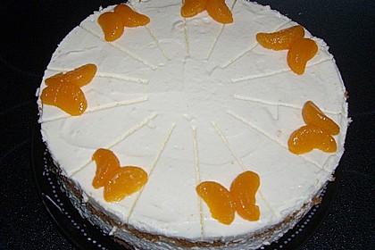 Käsesahne-Torte mit Mandarinen 8