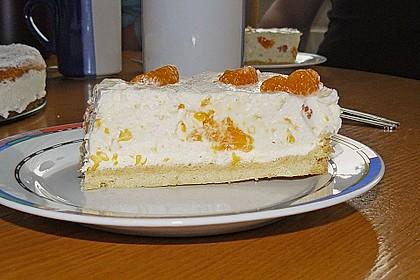 Käsesahne-Torte mit Mandarinen 3