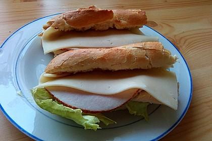 Turkey Ham Sandwich