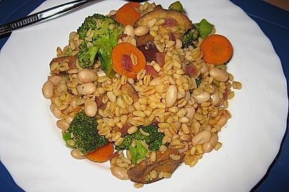 Ebly - Gemüse - Pfanne