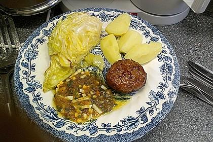 Spitzkohl mit Ei-Buttersauce 1