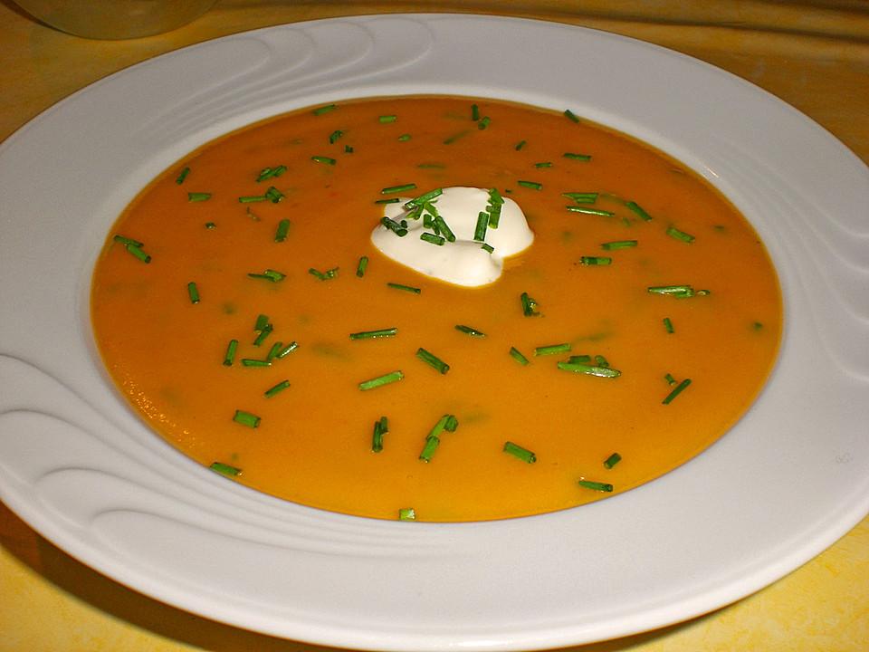Kartoffel Kürbis Suppe Von Maija2 Chefkoch