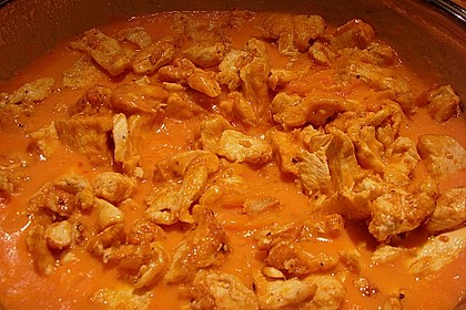 Schupfnudeln mit Paprika - Hähnchensoße 27