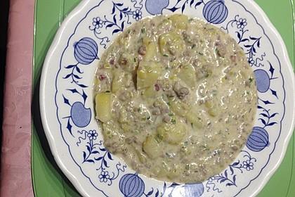 Hackfleisch-Lauch-Suppe 50