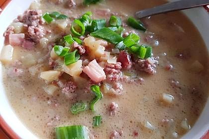 Hackfleisch-Lauch-Suppe 32