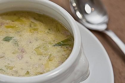 Hackfleisch-Lauch-Suppe 2