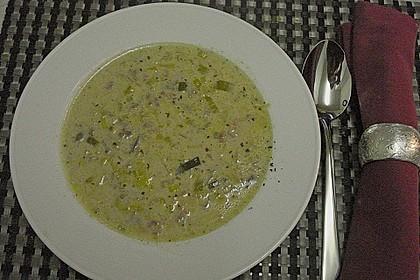 Hackfleisch-Lauch-Suppe 44