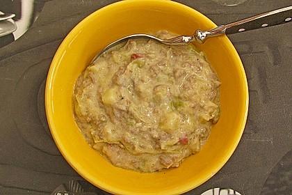 Hackfleisch-Lauch-Suppe 63