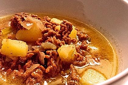 Hackfleisch-Lauch-Suppe 34