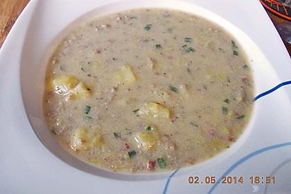 Hackfleisch-Lauch-Suppe 51