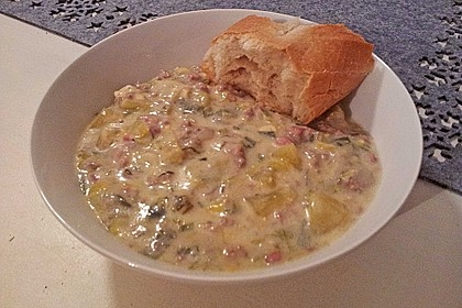 Hackfleisch-Lauch-Suppe 31