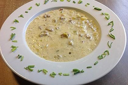 Hackfleisch-Lauch-Suppe 3