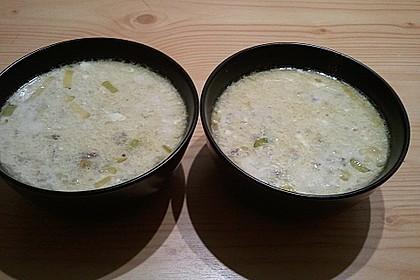 Hackfleisch-Lauch-Suppe 56