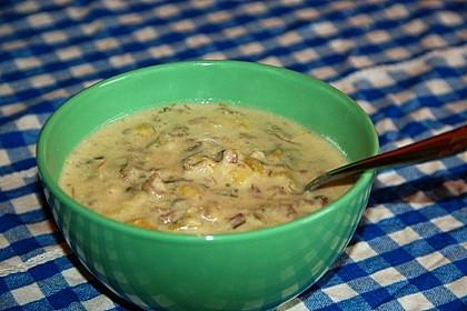 Hackfleisch-Lauch-Suppe 35
