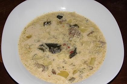 Hackfleisch-Lauch-Suppe 28
