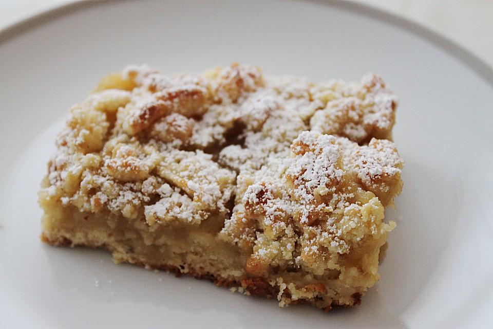 Einfacher Apfelmus Streuselkuchen Von Kuchen Chaos Kati Chefkoch De