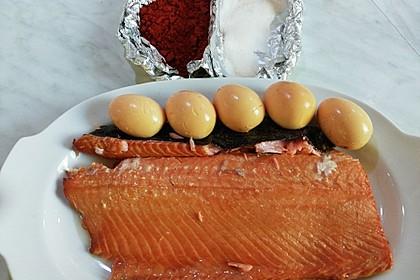 Fisch heiß räuchern 1
